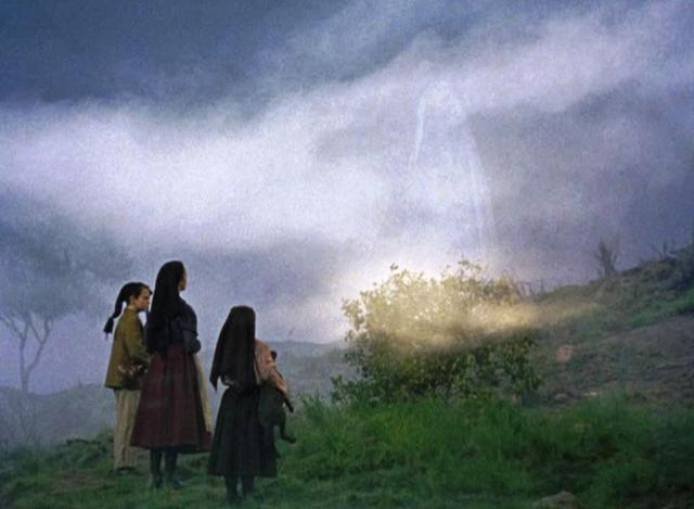 Image of the Children of Fatima visited by the Angel; thefatimaproject.com