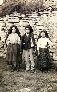The Children of Fatima; Lucia dos Santos, Francisco Marto, and Jacinta Marto, 1917
