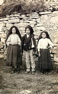 The Children of Fatima; Lucia dos Santos, Francisco Marto, and Jacinta Marto, 1917