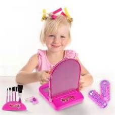 Girl with pretend make-up; Google image