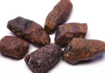 raw ruby stones